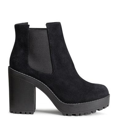 H&M black Boots 2