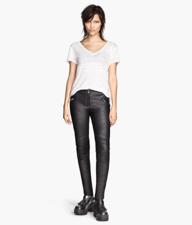 H&M leather pants 2